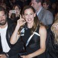 """Naomi Campbell, Bradley Cooper et Jennifer Garner au défilé de mode Haute-Couture automne-hiver 2016/2017 """"Atelier Versace"""" à Paris. Le 3 juillet 2016 © Olivier Borde / Bestimage"""