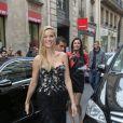Petra Nemcova arrive au Pavillon Cambon pour assister au défilé Ralph & Russo (collection Haute Couture automne-hiver 2016/2017). Paris, le 4 juillet 2016 © CVS-Veeren / Bestimage