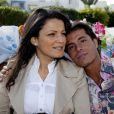 """Exclusif - Giuseppe Polimeno - """"Qui veut épouser mon fils"""" saison 1 - et son amie khadija, enceinte, passent les fêtes de fin d'année en amoureux à Hammamet en Tunisie. Décembre 2010."""