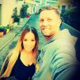 Benjamin Machet et sa compagne Sarah. Décembre 2015.