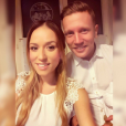 Benjamin Machet et sa compagne Sarah pendant les fêtes. Décembre 2015.