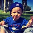 Tao, fils de Benjamin Machet (Les Anges) et Sarah. Juin 2016.
