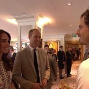 Kate Middleton et William : Heureux avec Andy Murray, entre jeunes parents