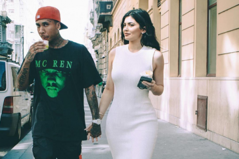 Kylie Jenner et Tyga : Voyage en amoureux en Europe