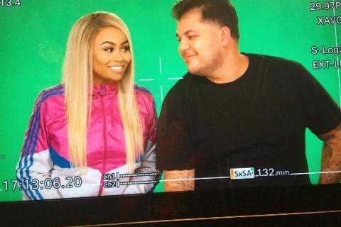 Blac Chyna et Rob Kardashian espiègles et complices pour leurs débuts télévisés