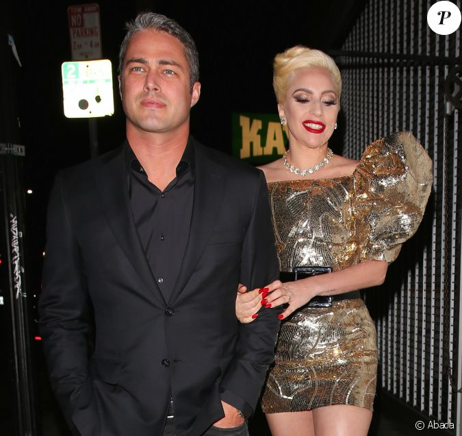 Lady Gaga et son ex-fiancé Taylor Kinney au No Name Club à ...