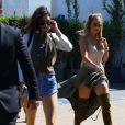 Kendall Jenner et Khloé Kardashian à Beverly Hills, le 18 juillet 2016.