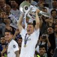 Toni Kroos lors de la victoire du Real Madrid en finale de la Ligue des Champions le 28 mai 2016