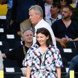 Anne Hidalgo et Guy Drut lors de l'arrivée du Tour de France 2016 sur les Champs-Élysées à Paris le 24 juillet 2016. © Coadic Guirec / Bestimage