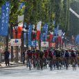 Image de l'arrivée du Tour de France 2016 sur les Champs-Élysées à Paris le 24 juillet 2016. © Coadic Guirec / Bestimage