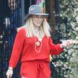 Hilary Duff arrive à l' anniversaire de la fille d'Haylie Duff, Ryan, à Los Angeles le 7 mai 2016