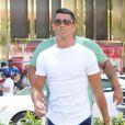 Cristiano Ronaldo fait du shopping à Beverly Hills, le 26 juillet 2016.