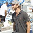 Pierre Casiraghi à Palma de Majorque le 1er août 2016 pour préparer la Copa del Rey.
