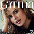Eva Mendes en couverture du numéro de septembre 2016 du magazine Latina.