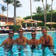 Cristiano Ronaldo en vacances à Miami, août 2016, photo Instagram.