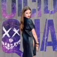 Xenia Tchoumi (Tchoumitcheva) assiste à l'avant-première européenne de Suicide Squad. Londres, le 3 août 2016.