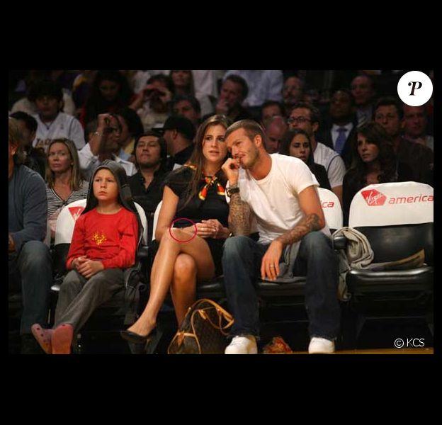 David Beckham et Francesca Leiweke