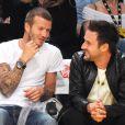 David Arquette et David Beckham