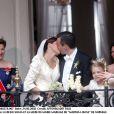 La princesse Märtha Louise de Norvège et Ari Behn lors de leur mariage à Trondheim le 24 mai 2002. Le couple a annoncé son divorce le 5 août 2016, après 14 ans de mariage.