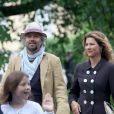 La princesse Märtha Louise de Norvège avec son mari Ari Behn lors de la célébration de ses 40 ans à Oslo en août 2013. Le couple a annoncé son divorce le 5 août 2016, après 14 ans de mariage.
