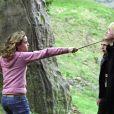 Emma Watson et Tom Felton dans Harry Potter et le Prisonnier d'Azkaban