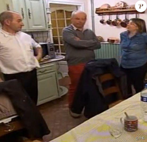 """Alain, Yves et Marianne – """"L'amour est dans le pré 2016"""", sur M6. Le 8 août 2016."""