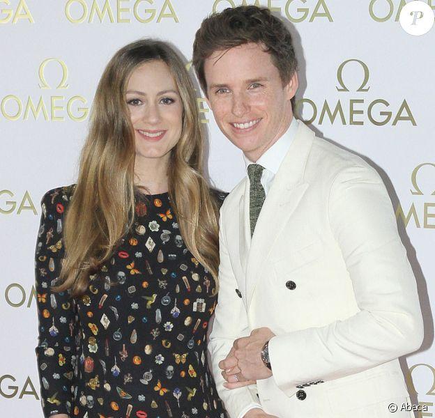 Eddie Redmayne et sa femme Hannah Bagshawe à la soirée organisée par la marque Omega lors des Jeux Olympiques de Rio au Brésil le 6 août 2016