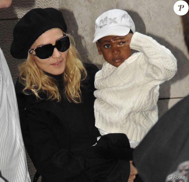 Madonna et David