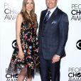 Michael Weatherly et sa femme Bojana Jankovic - 40eme ceremonie des People's Choice Awards a Los Angeles. Le 8 janvier 2014