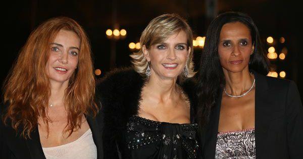 REPORTAGE PHOTOS : Quand la belle Anne Parillaud illumine ...