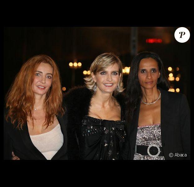 Frédérique Langmann, Melita Toscan du Plantier et Karine Silla