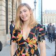 """Julie Gayet - Sorties du défilé de mode Haute-Couture automne-hiver 2016/2017 """"Boucheron"""" à Paris. Le 4 juillet 2016 © CVS-Veeren / Bestimage"""