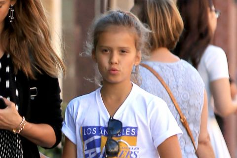 Jessica Alba : Sa fille Honor, son sosie !
