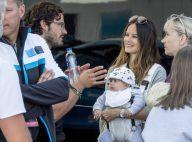 Sofia de Suède : Le prince Alexander, 4 mois, déjà supporter de papa Carl Philip