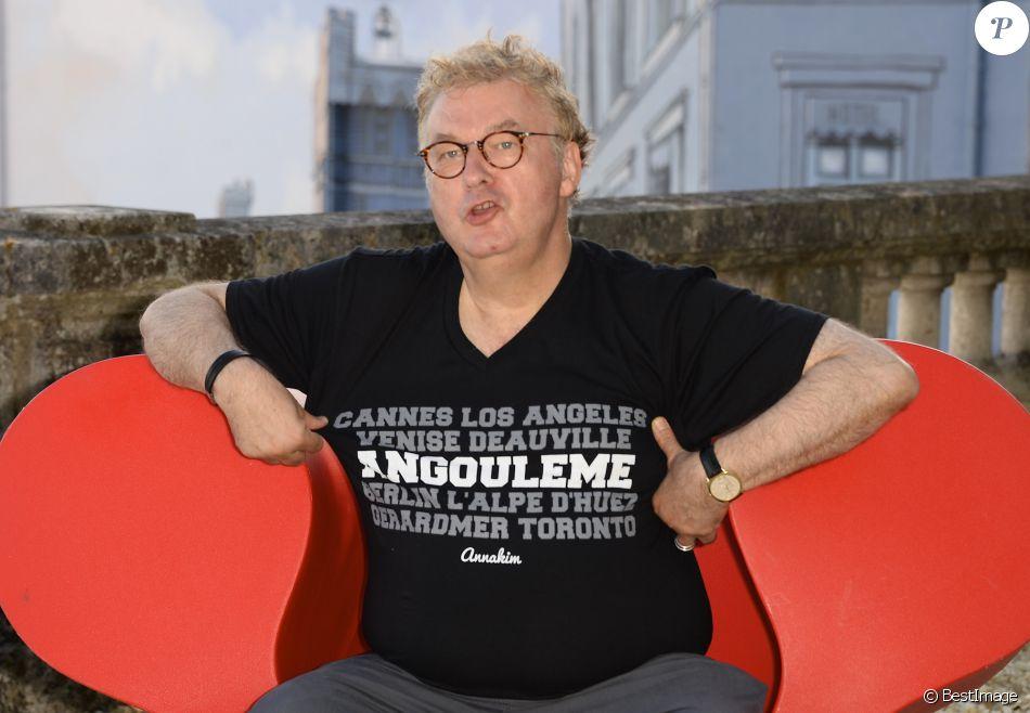 Dominique Besnehard - Photocall de la 8e édition du Festival du film francophone d'Angoulême, le 28 août 2015.