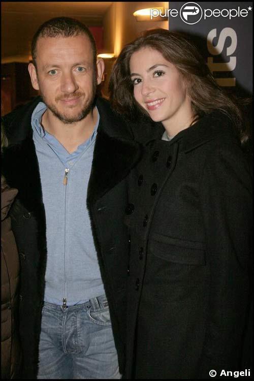 Dany Boon et sa femme à la visite privée de l'expo Picasso, le 20/11/08