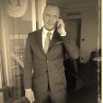 David Bigard, neveu de Jean-Marie Bigard, n'est autre que l'assistant personnel de Kev Adams. Photo datant de 2016.