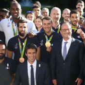 """Rio 2016 – Teddy Riner et les Bleus à l'Élysée : """"Quelle émotion !"""""""