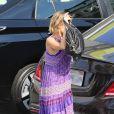 Cameron Diaz et Nicole Richie de sortie avec la petite Harlow Madden à Los Angeles le 23 août 2016
