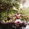 Ariane Brodier et Fulgence Ouedraogo en vacances à Bali, la dernière semaine de Juillet 2016.