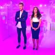 Julien et Sophia dans Secret Story 10, le 26 août 2016.