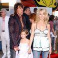 Heather Locklear, Richie Sambora et leur fille Ava