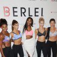 Serena Williams lors de la soirée de la marque de lingerie Berlei à New York, le 25 août 2016