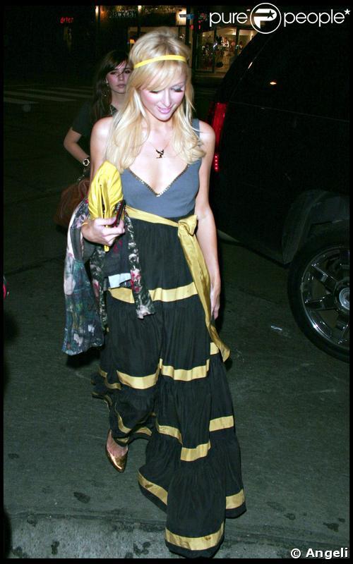 Paris Hilton vendredi 21 novembre