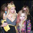 Paris Hilton et Avril Lavigne le vendredi 21 novembre