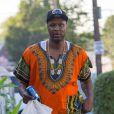 Lamar Odom se promène dans le Queens. New York, le 13 juillet 2016.