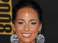 REPORTAGE PHOTOS : Alicia Keys, resplendissante, est comme elle est... et ça plaît !