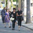 Guest - Obsèques de Sonia Rykiel au cimetière de Montparnasse à Paris, le 1er septembre 2016. Funeral of French designer Sonia Rykiel at the Montparnasse cemetery in Paris on September 1, 2016.01/09/2016 - Paris