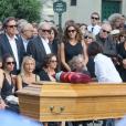 Obsèques de Sonia Rykiel au cimetière de Montparnasse à Paris, le 1er septembre 2016.