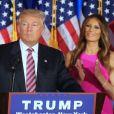 Ivanka Trump, Melania Trump - Donald Trump s'adresse à ses supporters et aux médias pendant un meeting à Briarcliff Manor, NY on June 7, 2016. © Agence/Bestimage